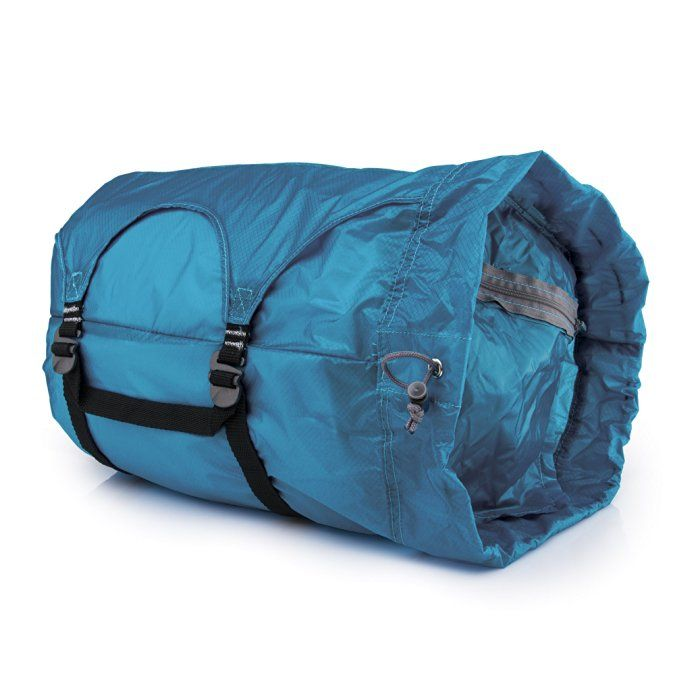 Gobi Gear Hoboroll V2.0 - The Essential, Multi Compartment, Stuff Sack for Life's Adventures, Mineral Blue