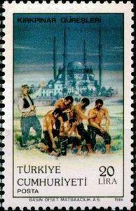 "the ""Cazgır"" Presents the Wrestlers 1986"