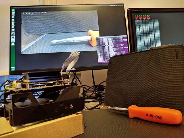 NVidia Jetson Nano with Pi camera uses imagenet TensorRT neural