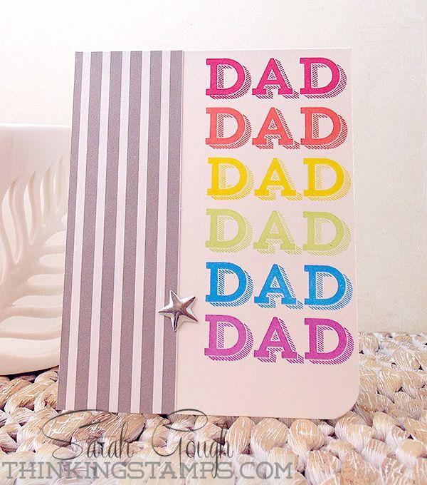 DAD! Sarah Gough www.thinkingstamps.com
