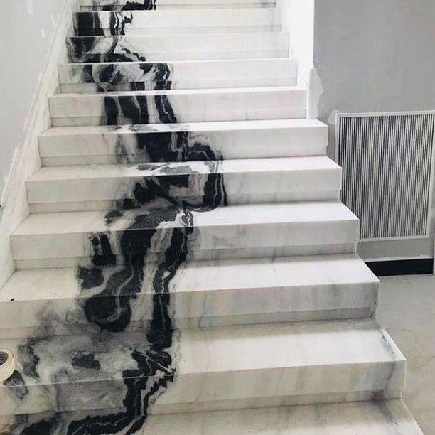 Irina Lazar On Instagram Heavenly Stairway Interiordesign Design Designelements Inspiration Ins Marble Staircase Marble Stairs Marble Room