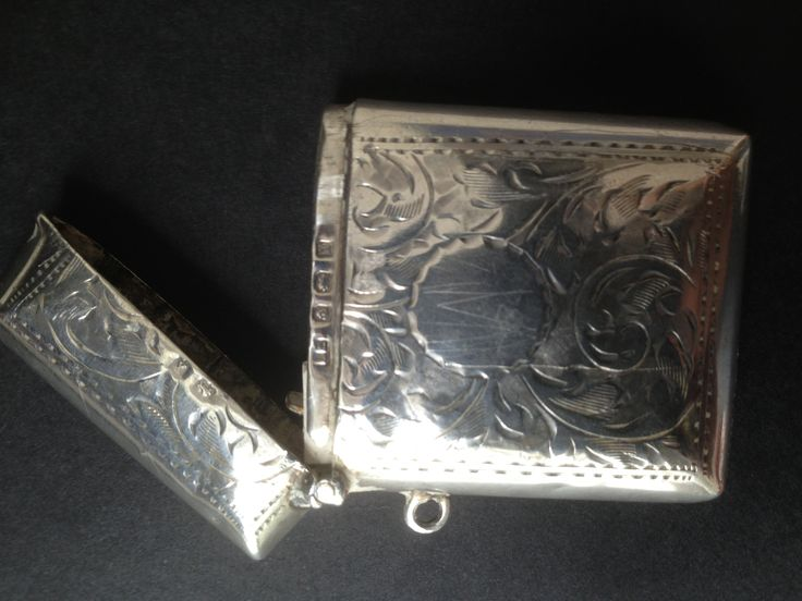 Silver Sterling Vesta Cases - I collect these, and cannot seem to get enough of them! Email me if you have any for sale or trade webbyswares@gmail.com wanted to buy