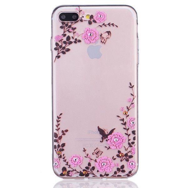 Apple iPhone 7 Plus 5.5inch Art Printed Cartoon TPU Case Durable TPU Cover Phone Bag For iPhone 7 Plus