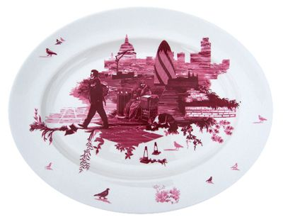 Timorous Beasties 'London Plate'