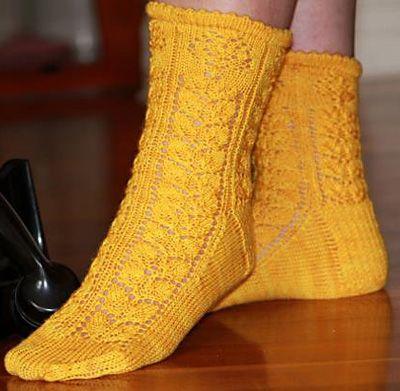Roses sock : Winter 2013