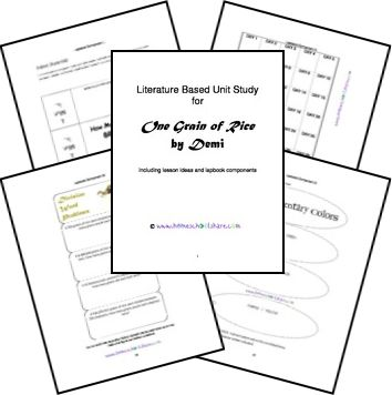 A Grain Of Rice Worksheets