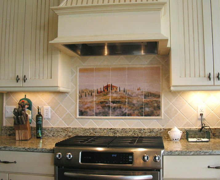 French Country Kitchen Backsplash rustic kitchen backsplash ideas - destroybmx