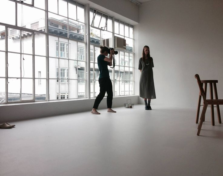 Behind the scenes at The Studio and Building Blocks shoot