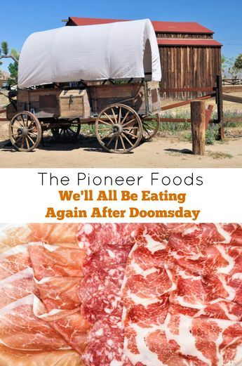 The Pioneer Foods we'll all be eating again after doomsday. Practice recipes for Hardtack, Hoecake,Pocket Yams, Cooked Cabbage Salad, Mormon Gravy, Bread Pudding and more.