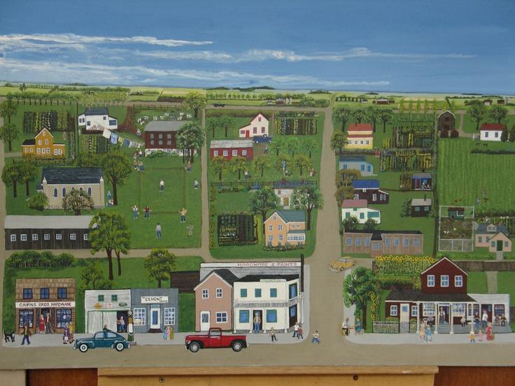 Homewood, Manitoba, 1950's