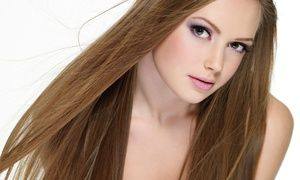 Groupon - Haircut with Matrix Shine Gloss, Aveda Conditioning, or Multicolor Highlights at Le Posh Hair Salon (Up to 63% Off) in Upper West Side. Groupon deal price: $45