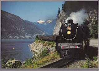 Royal Hudson 2860.  She now is safe and warm in the CN Roundhouse and Conference Centre, Squamish, BC