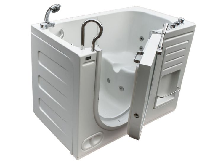 Walk In Tub With Heated Water Jets   The Steam Planet Northeastern Bath 51  In. Walk In Tub With Heated Water Jets Is A Single Person Unit That Lets ...