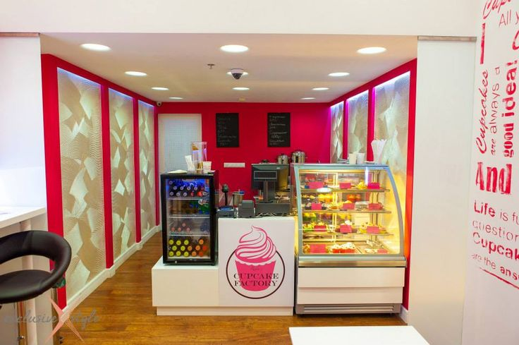 Cupcake counter design
