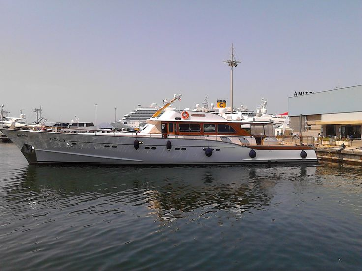 #nimpha #superyacht #motoryacht  Builder: Cantiere Navale De Cesari A. S.N.C.   Country of Build: Italy   Date of Completion: 2009  Length Overall (m/ft): 32m (104.99ft)    Beam: 8m (26.25ft)   Draught Max: 2m (6.56ft)   Draught Min: 0m (0ft)   Gross Tonnage: 142 Tonnes  Naval Architecture:  Andrea Vallicelli    Exterior Design:  Andrea Vallicelli   Class: RINA #portodicagliari #molodogana àcagliari #Island #sardinia #italy #cruiser #charter
