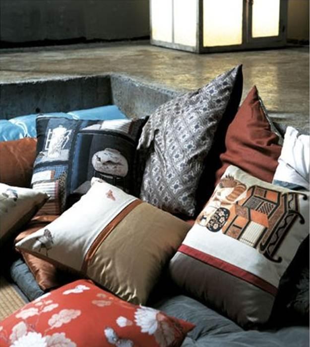 Korean folk painting on interior items