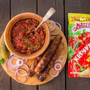Фото к рецепту: Кисло-сладкий соус  для барбекю