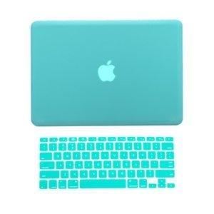 I AM SOOO GETTING THIS!!! TopCase 2 in 1 Rubberized TIFFANY BLUE Hard Case Cover and Keyboard Cover for Macbook Pro 13-inch 13 (A1278\ with or without Thunderbolt) with TopCase Mouse Pad