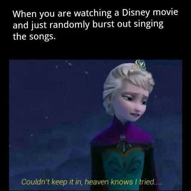 frozen singing