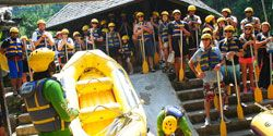 bali rafting - briefing