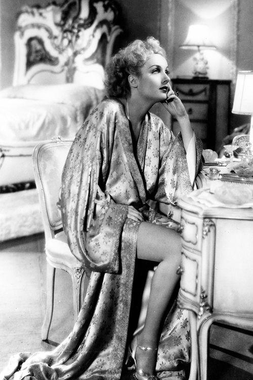 Carole Lombard in 'Twentieth Century'. Director: Howard Hawks, 1934.