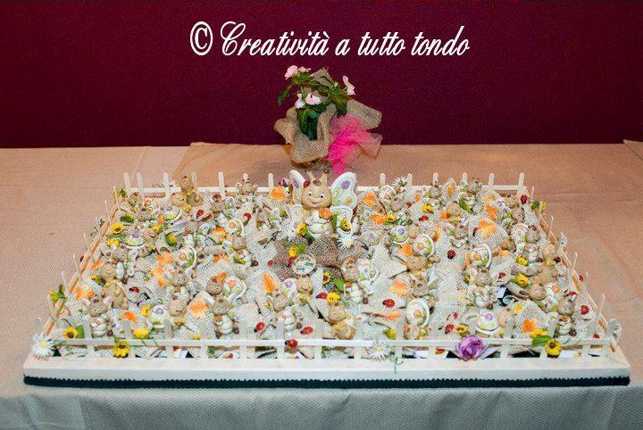 Prato di Confetti e Farfalline
