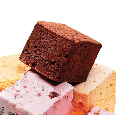 Chocolate Marshmallows by saveur  #Marshmallows #Chocolate