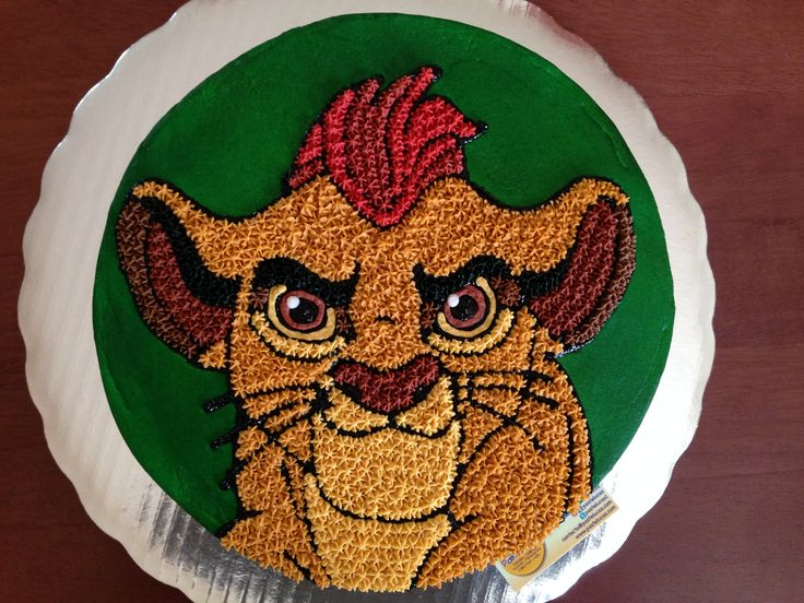 The Lion Guard cake