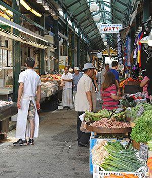 Stedentrip Thessaloniki, markt