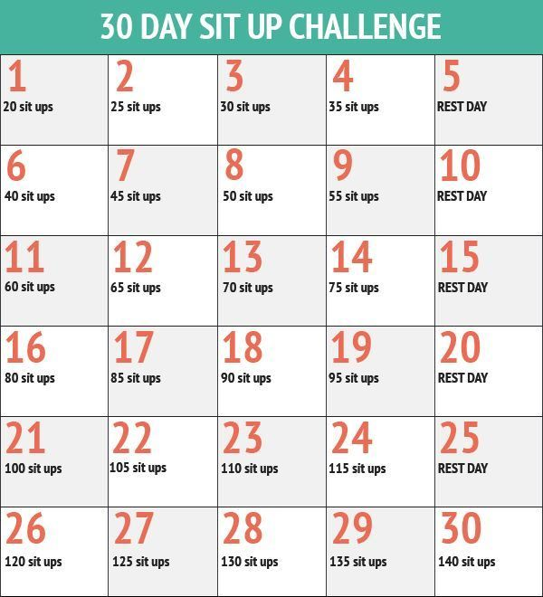 30 day push up challenge for beginners