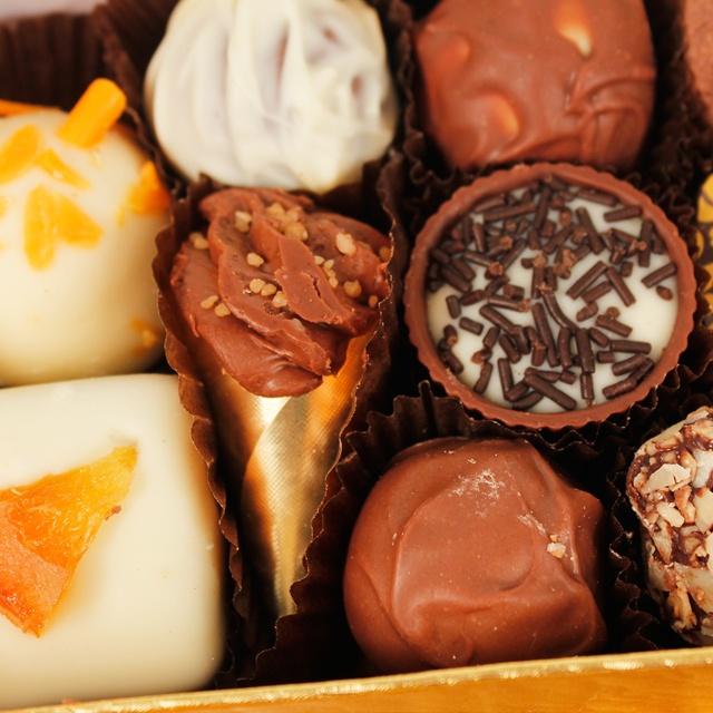 Eden Luxury Chocolate Tower 235g www.eden4chocolates.co.uk