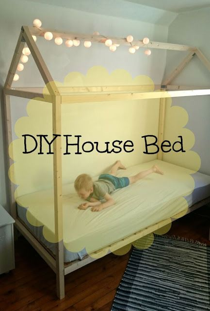 DIY house bed Housebed