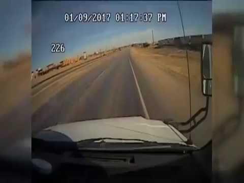 Τransport bus crashes into train in Midland County, Texas