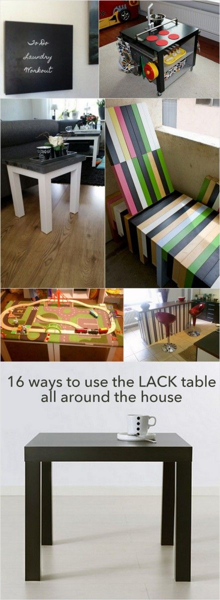 16 Ways To Use The IKEA LACK Side Table All Around House