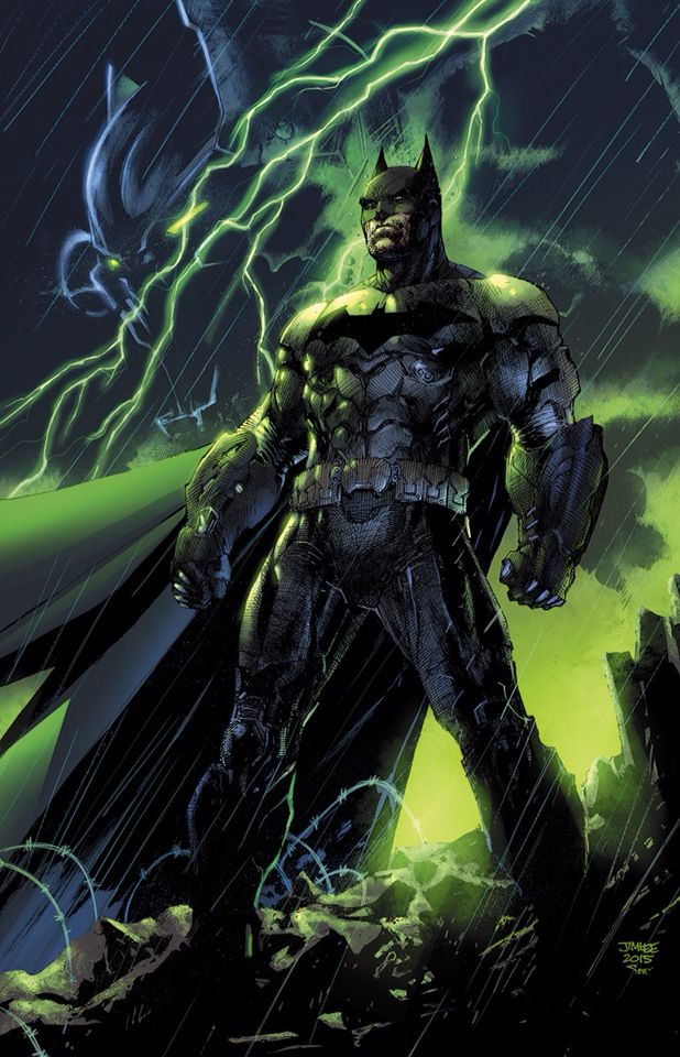 Recent Jim Lee Batman