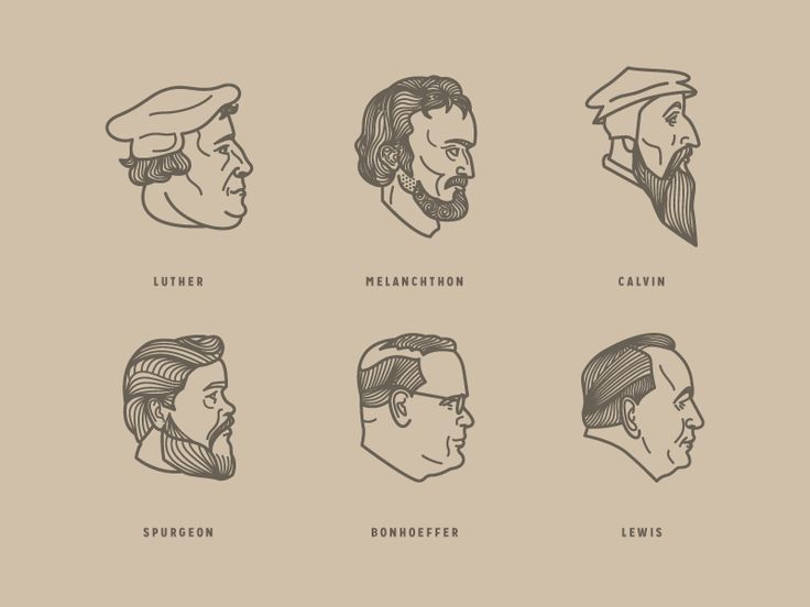 Faces Of The Church by Peter Voth #Design Popular #Dribbble #shots