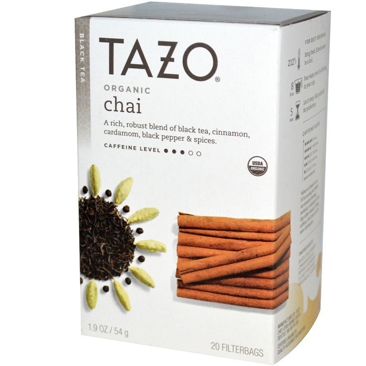 Tazo Teas, Organic Chai, Black Tea