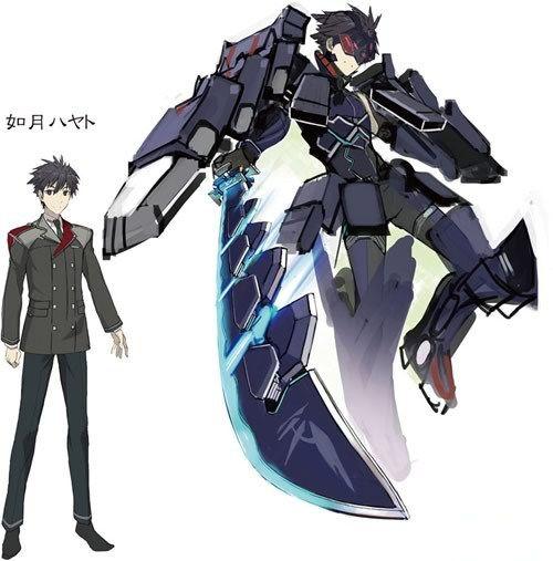 Hundred Light Novel Characters Hayato Kisaragi Anime Mecha Anime Anime Comics