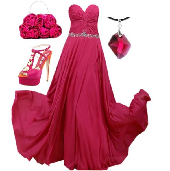 Pretty in Pink - 33 Different Evening Gown Looks - I love this site