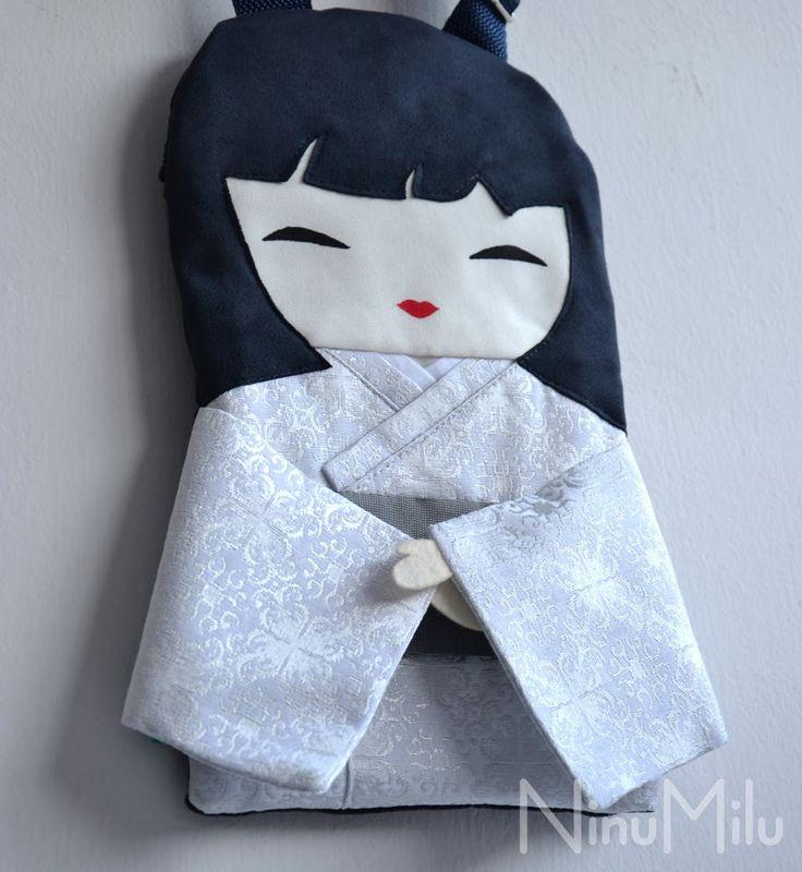 NinuMilu - torebki lalki - handbag dolls for girls: Delikatny urok Ciszy