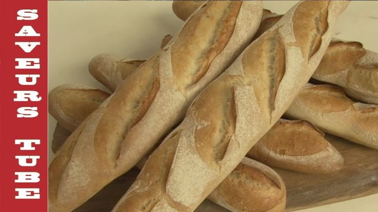 How to make a French Baguette with TV Chef Julien from Saveurs Dartmouth...
