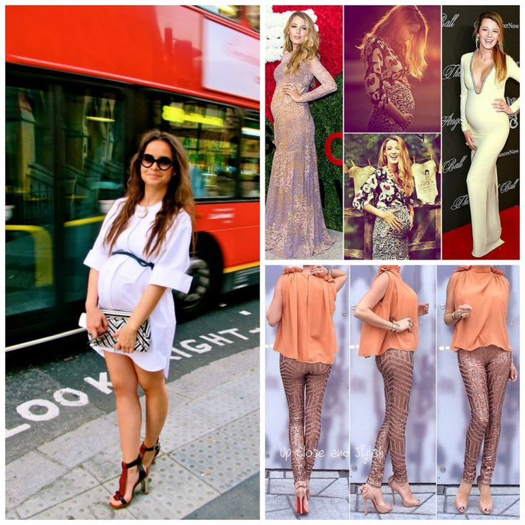 The Battle for the Most Stylish Pregnant Celebrity