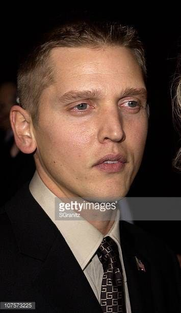 Best Supporting Actor in a miniseries nominee Barry Pepper arrives for the 53rd Annual Primetime Emmy Awards