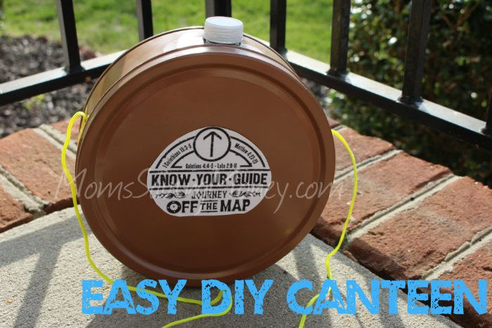 """DIY Canteen """"Journey off the Map"""" Rebecca Autry Creations"""