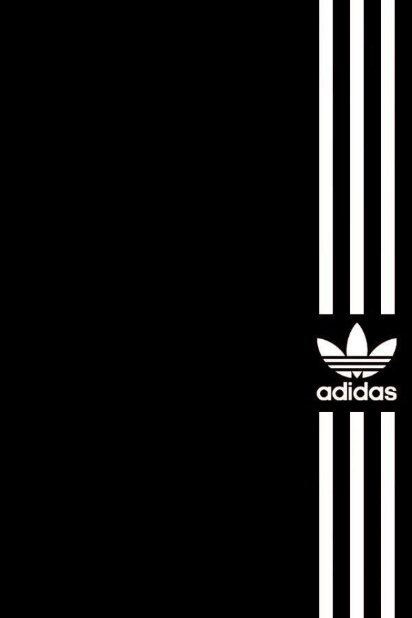 Black White Adidas Wallpaper Pinterest Adidas Iphone Wallpaper