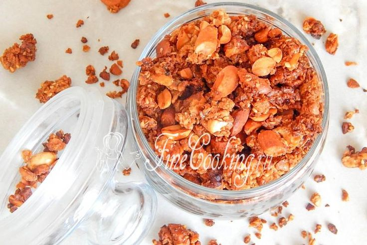 Ореховая гранола - рецепт с фото
