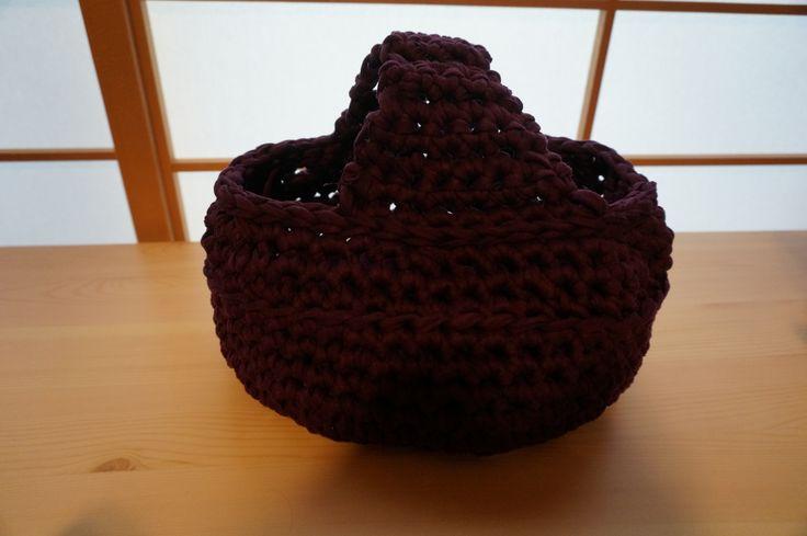 t-shirt yarn basket