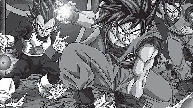 #DragonBall Super : Les premières pages du manga en Français sont en ligne