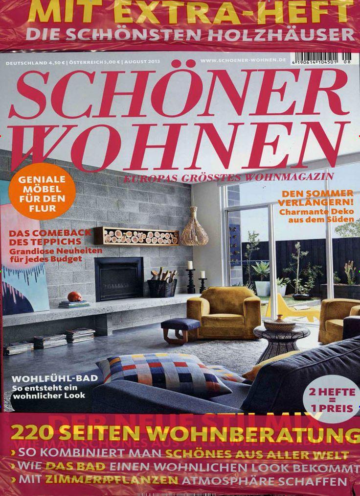 SCHÖNER WOHNEN Heft 08/2013