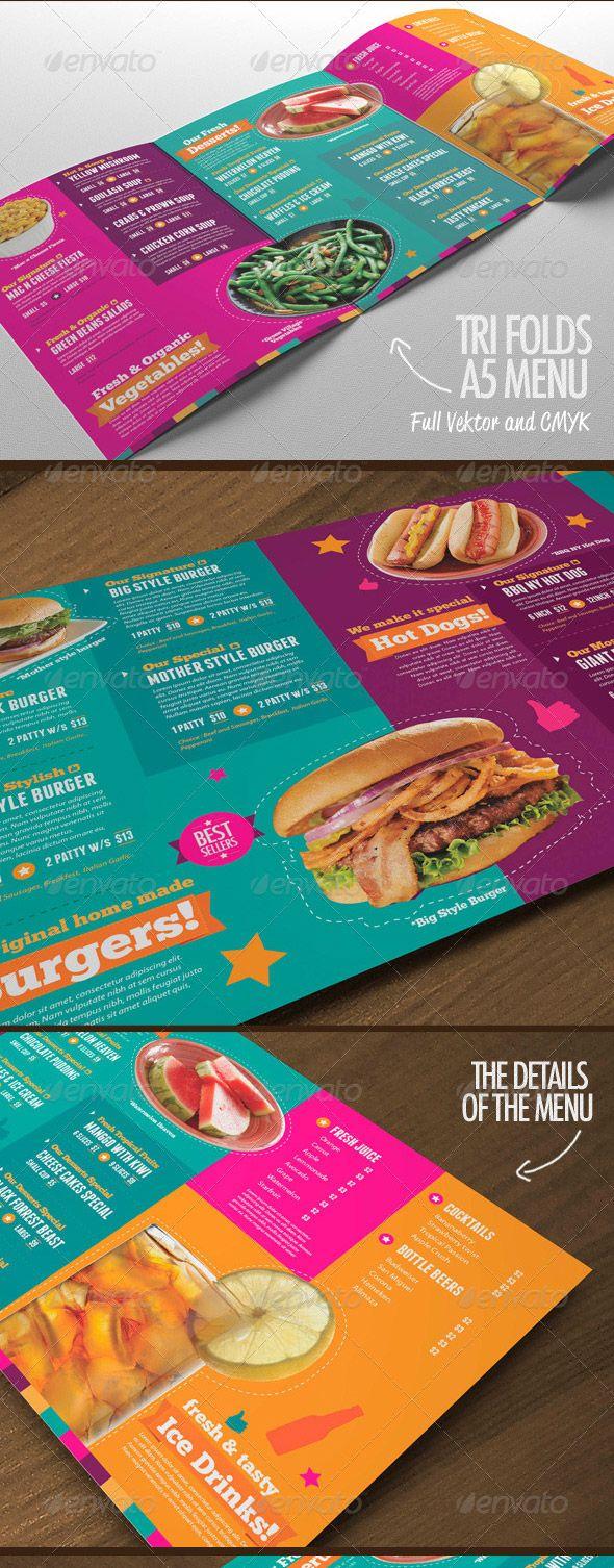215 best Diseño de Cartas de Restaurantes images on Pinterest | Menu ...
